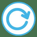 Icon zeigt einen runden Pfeil.